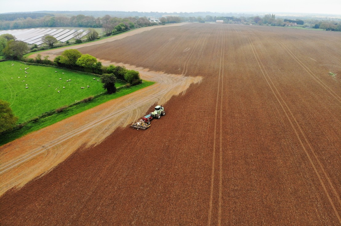 Using drone imagery to help understand farmperformance
