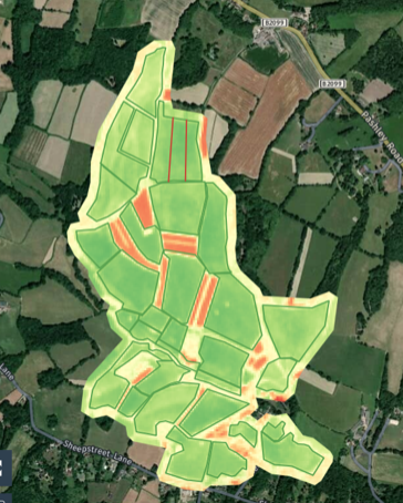 Monitoring pasture health using satellite imagery