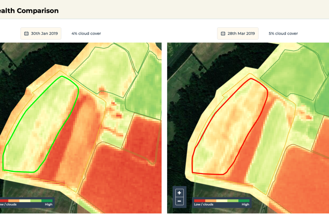 How a UK Agronomist is using NDVI analysis in practical ways